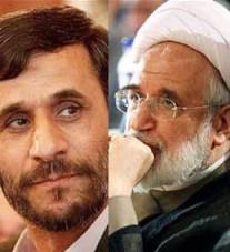 مناظره انتخاباتی محمود احمدی نژاد و مهدی کروبی
