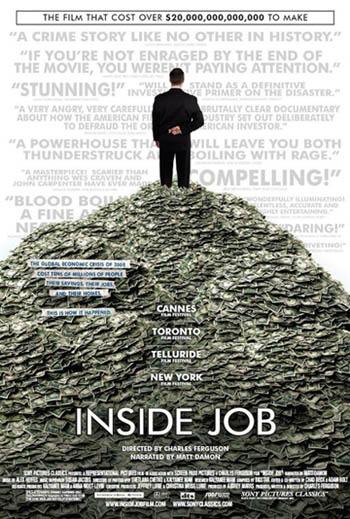 فیلم مستند Inside Job / بحران اقتصادی جهان / زیرنویس فارسی