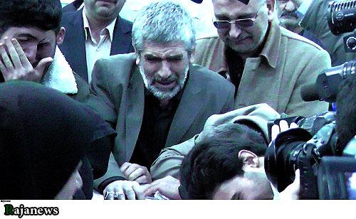 475631 فیلم وداع خانواده شهید احمدی روشن با شهید