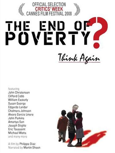 end of poverty poster مستند پایان فقر؟