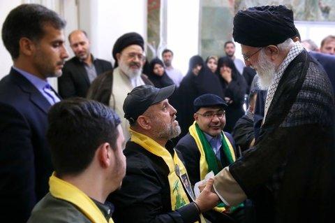 پدر شهید حزب الله لبنان