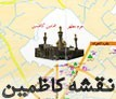 نقشه شهر کاظمین