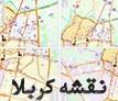 نقشه کربلا به تفکیک منطقه
