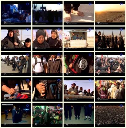 فیلم مستند کیلومتر 6 / پیاده روی زائران اربعین حسینی